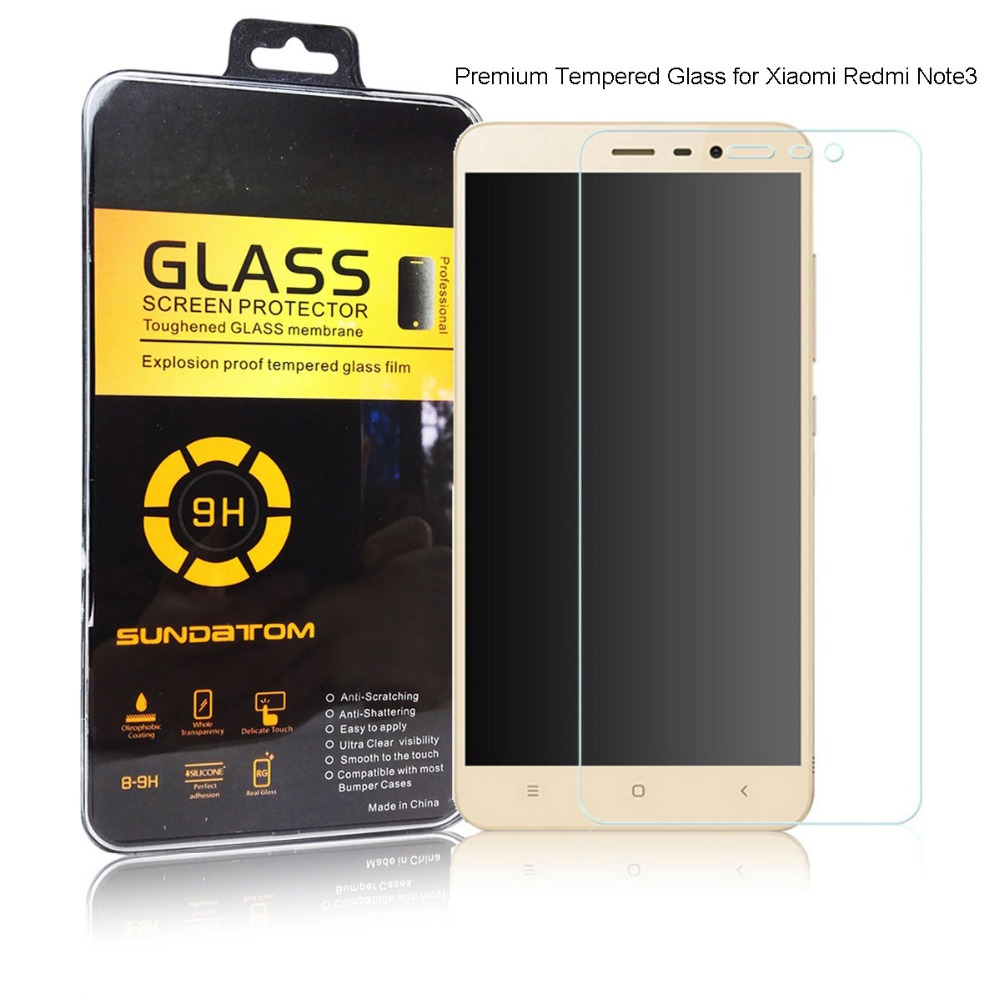 Xiaomi Redmi Note 3 Screen Protector 9H Film Ultra Thin Real Premium Tempered Glass For Xiaomi Redmi Note3