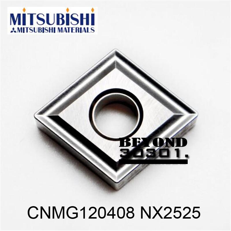 CNMG120408 NX2525. MITSUBISHI cutting blade, turning tip,Suitable for MCLNR MCKNR MCBNR MCMNN MCSNR Series Lathe Tool,(China (Mainland))