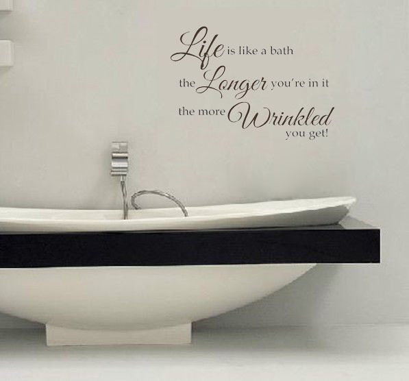 Life is like the more whinkled wall decals vinyl for Life is good home decor