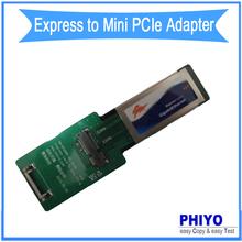 express to mini pcie adapter, express card to mini pci-e converter, express card to mini pci-express card riser card PHIYO(China (Mainland))