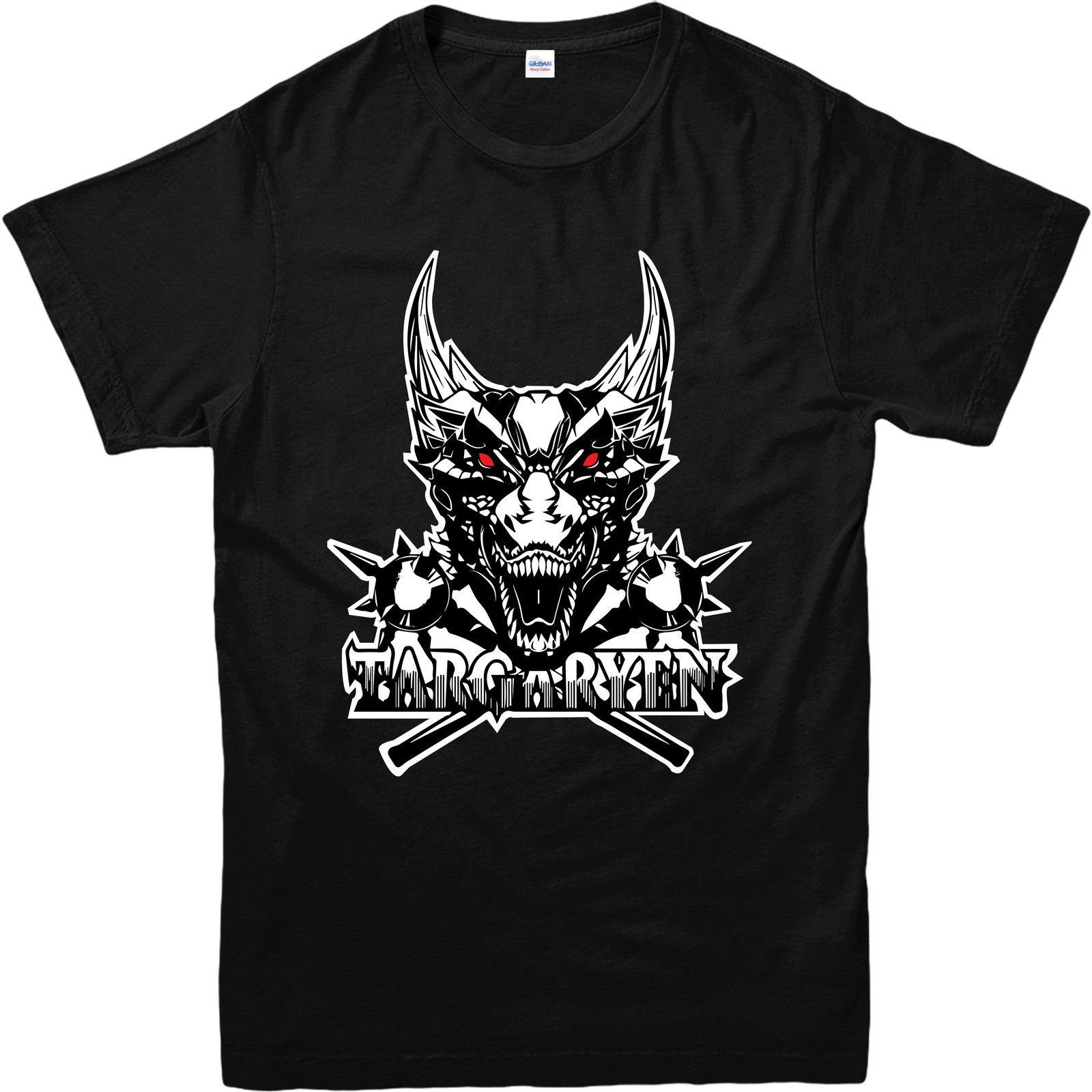 Game Thrones T-Shirt, House Targaryen Sketch Inspired Design T Shirt, GOT Top Femme Harajuku Funny Tops Tee Normal