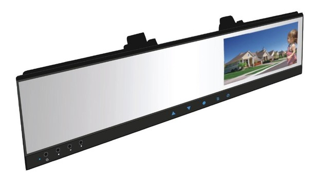 "4.3"" TFT  mirror,car DVR rearview mirror with wireless back-up camera system,touch key  //Model:AJ-DV100(Wireless cam)"
