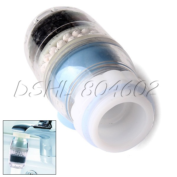 Portable Coconut Carbon Cartridge Faucet Tap Water Filter(China (Mainland))