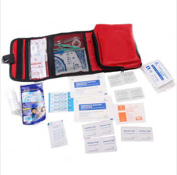 Medical Bag Outdoor Camping Earthquake Car Survival Medicine 33Pcs/Set Waterproof &Wear-Resistant Portable Family First aid Kit(China (Mainland))