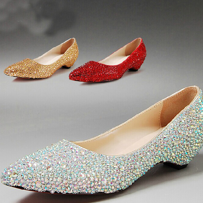 toe wedding party dress shoes bridal shoes sparkling silver bridesmaid