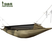 outdoor camping outdoor survivor mult ifunction portable mosquitoes hammock wear resisting tent 160 180cm height Free