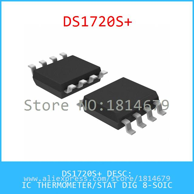 Electronic Voltage Regulator DS1720S IC THERMOMETER/STAT DIG 8-SOIC 1720 DS1720 1720S 1pcs(China (Mainland))