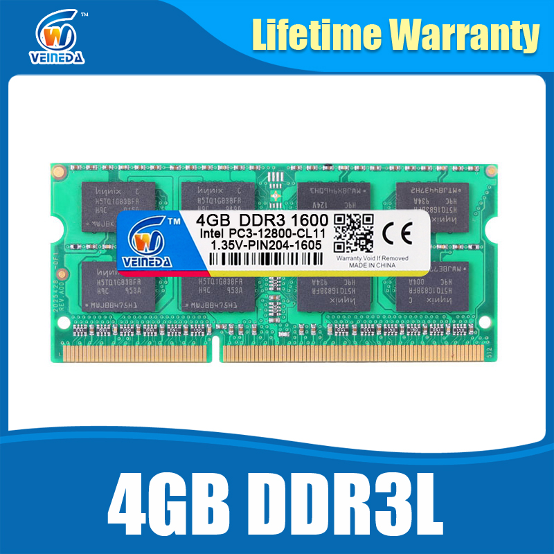 DDR3L 4GB 1333MHz Sodimm Ram DDR 3L 1600 PC3-12800 204PIN Ram Compatible For All Intel AMD ddr3 Motherboard Lifetime Warranty(China (Mainland))