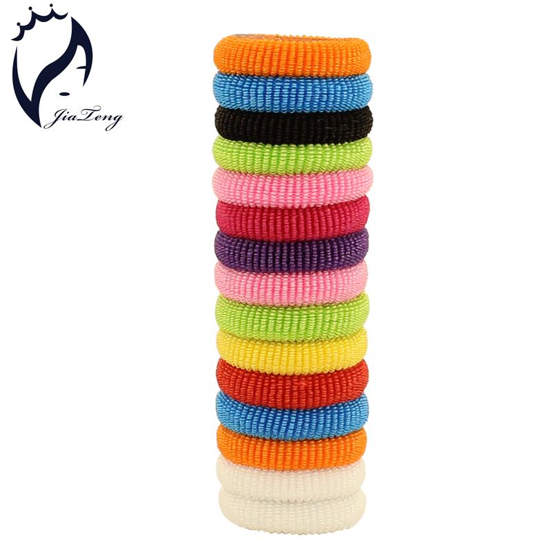 80pcs/bag 30mm Kids Girls Hair Accessories Hair Band Bright Hair Holders Rubber Bands Hair Elastics Accessories Charms Tie Gum(China (Mainland))