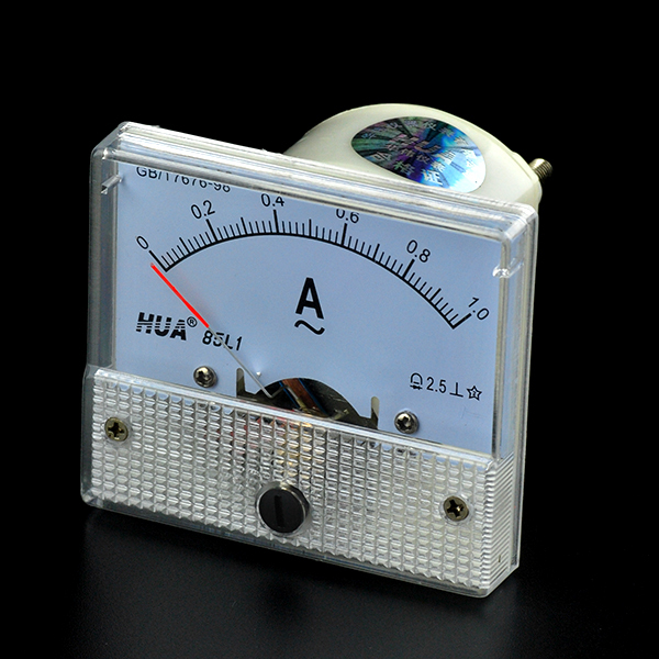 AC 1A 85L1 Mode Analog Ammeter Current Ampere Panel Meter AMP measure 0-1A 64*56*52mm Class 2.5 New Arrival Free Shipping<br><br>Aliexpress