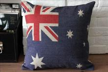 Australia flag pillow cushion covers sofa chair cushions