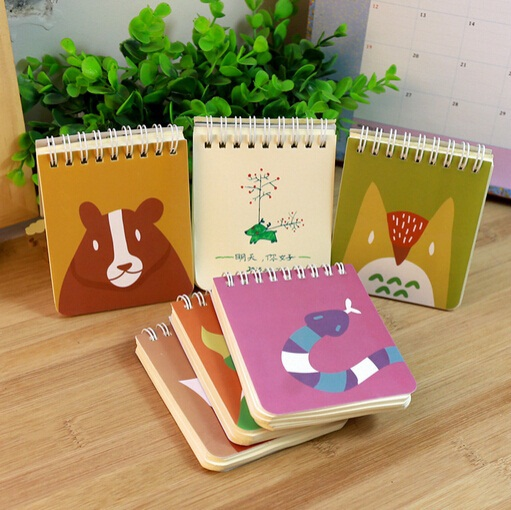 Vintage Color Animal series Kraft Paper Coil book/notebook/Retro Diary/wholesale<br><br>Aliexpress