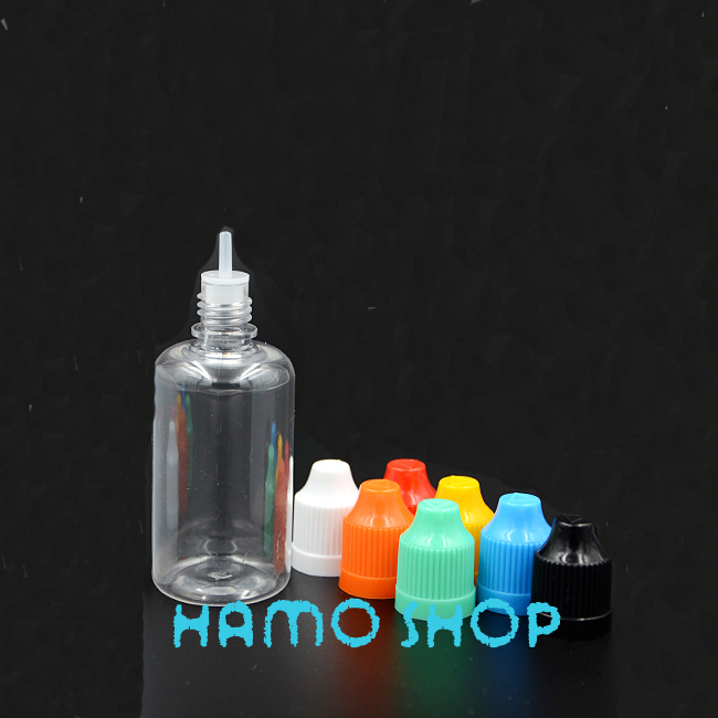 10Pcs/lot 50ml Empty Plastic Squeezable Dropper Bottles Eye Liquid Dropper With Childproof Cap& Tip LDPE(China (Mainland))