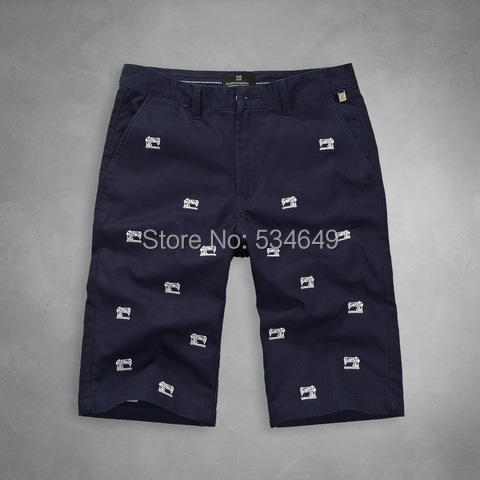 2015 Hot Summer gym masculine outdoor AM SCOTCH print sport pants brand men's casual short trousers beach - jeans luo's store
