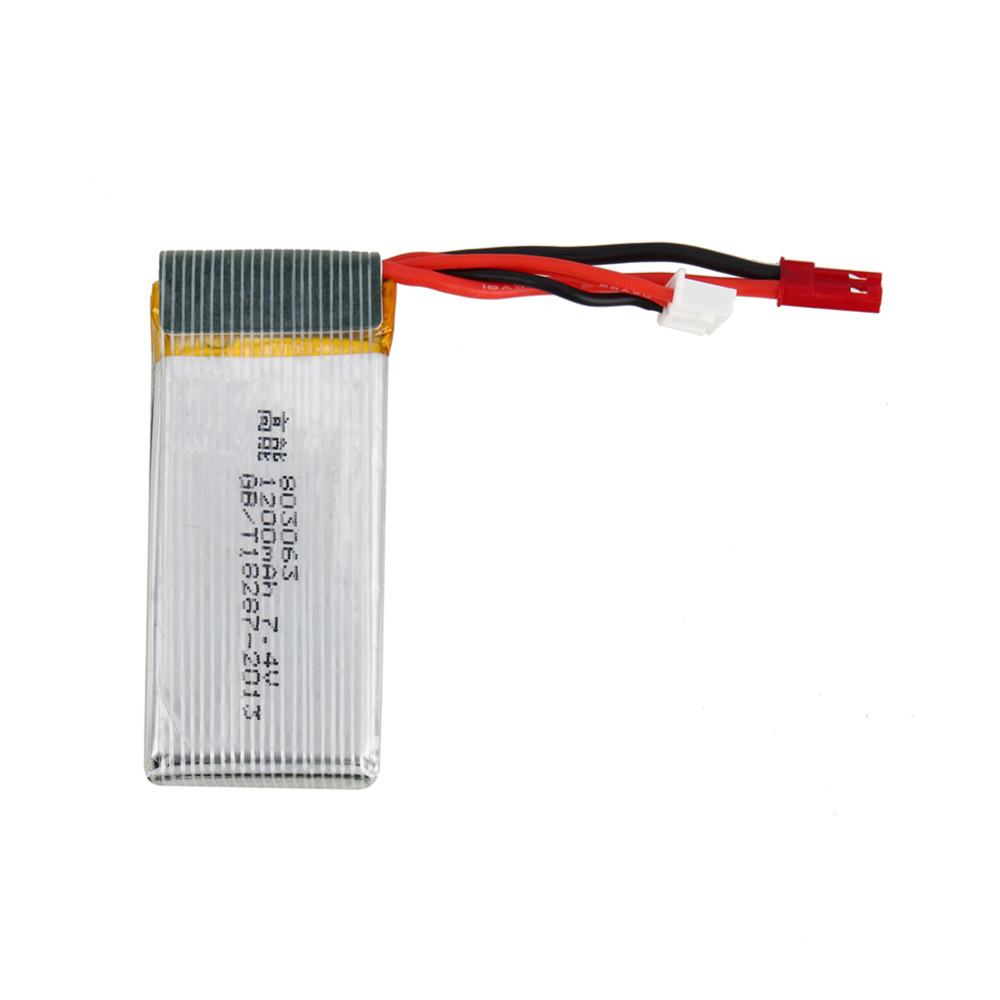 Original MJX X101 Battery 7.4v 1200mah Battery For MJX X101 Rc Quadcopter Spare part Free shipping