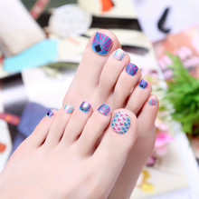 beauty decal  new fashion DIY manicure  nail art strap on nail stickers, toe stickers, sticker on nails