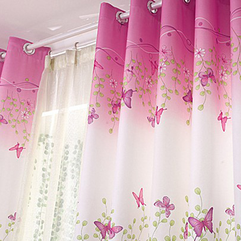 Aliexpress Com Buy Children Room Divider Kitchen Door Curtains Pastoral Floral Window: Compare Prices On Leaf Print Curtains- Online Shopping/Buy