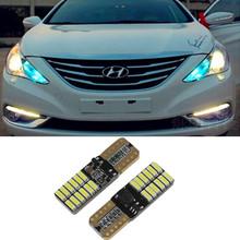 2x canbus T10 W5W 4014-24SMD Led Parking ampoule pour for Infiniti EX35 EX37 FX35 FX37 FX45 FX50 G20 G25 G37 I30 I35 J30 M30 M35(China (Mainland))