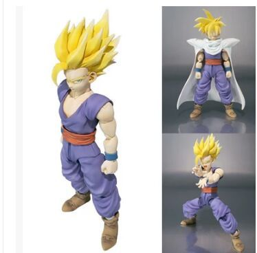 BANDAI SHF Dragon Ball Z Son Gohan action figure toy doll for boy gifts Collectibles(China (Mainland))