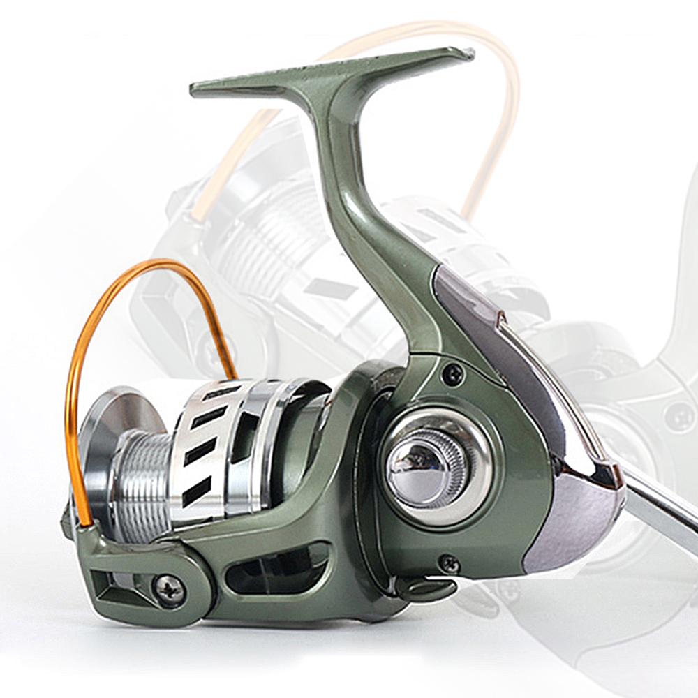 New 12+1 BB Ball Bering Fishing Reel Spinning Reel Metal Spool/Arm Front Drag 3000 - 6000(China (Mainland))