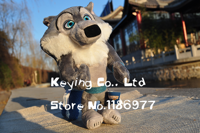 Limited Collection The Penguins of Madagascar Secret Service Wolf Cute Soft Stuffed Animal Plush Toy Birthday Gift Kids Gift(China (Mainland))