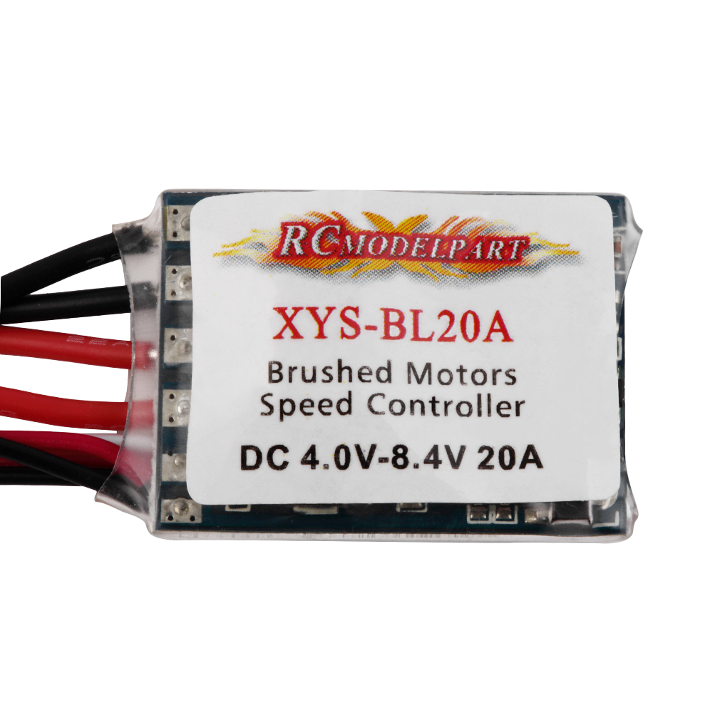 Hot Newest *20A *Brushed ESC *Speed *Controller BEC 5V 1A *without *Brake For RC Car Boat 11g Free Shipp<br><br>Aliexpress