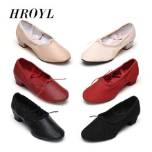 Buy 2016 Brand New Leather/Canvas Ballet Dance Shoes Ladies/Girls/Ballroom Dance Shoes/Salsa Tango Dance Shoes 6 colors for $11.29 in AliExpress store
