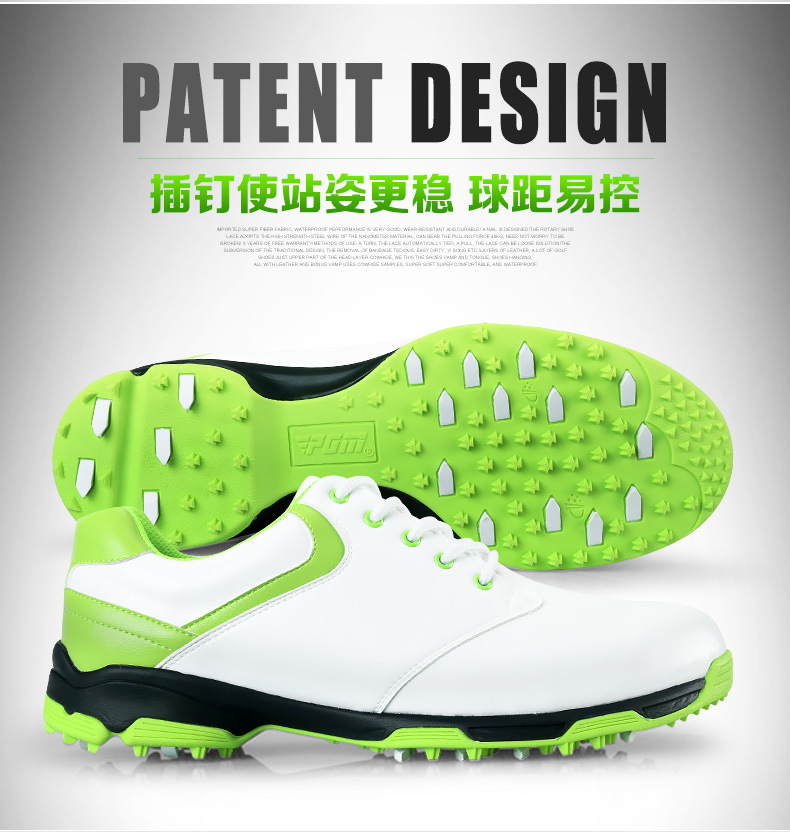 2016 men sneakers men golf Shoes fashion cheap outdoor golf sport shoes light PU shoes plus size can customized logo hot new(China (Mainland))