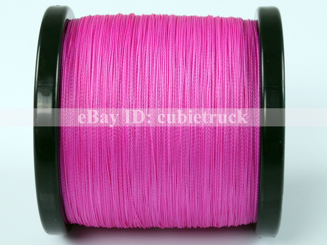 Spectra 500m 10lb 4 5kg pink 0 12mm pe braid fishing lines for Pink braided fishing line