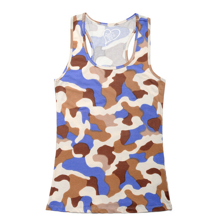2015 New Fashion Summer Men Tank Tops Camouflage Shirt Cotton gym Sports Navy fitness men Plus Size BL103 - Sur Store store