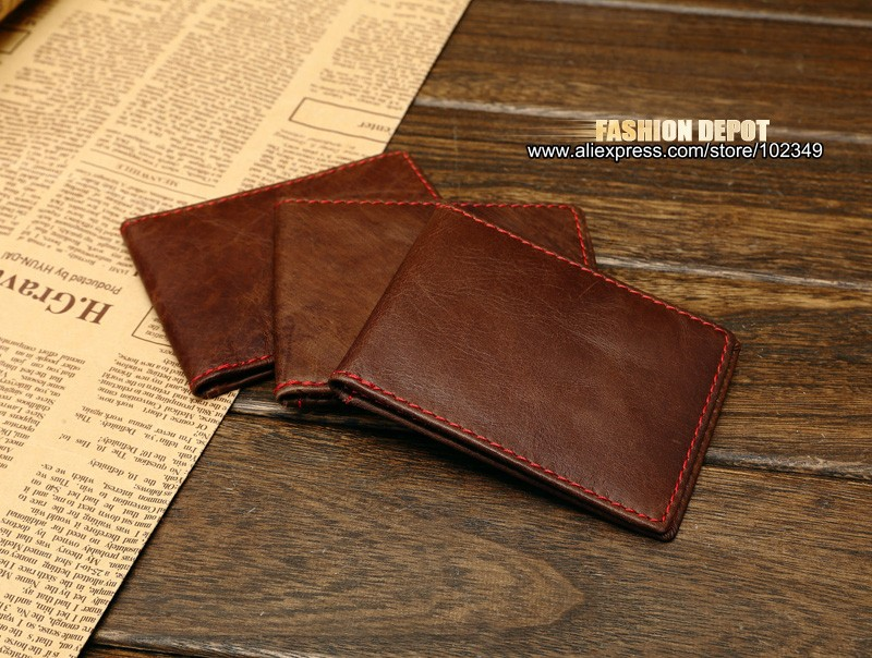 Genuine Leather Driver License Horizonal Style (2)