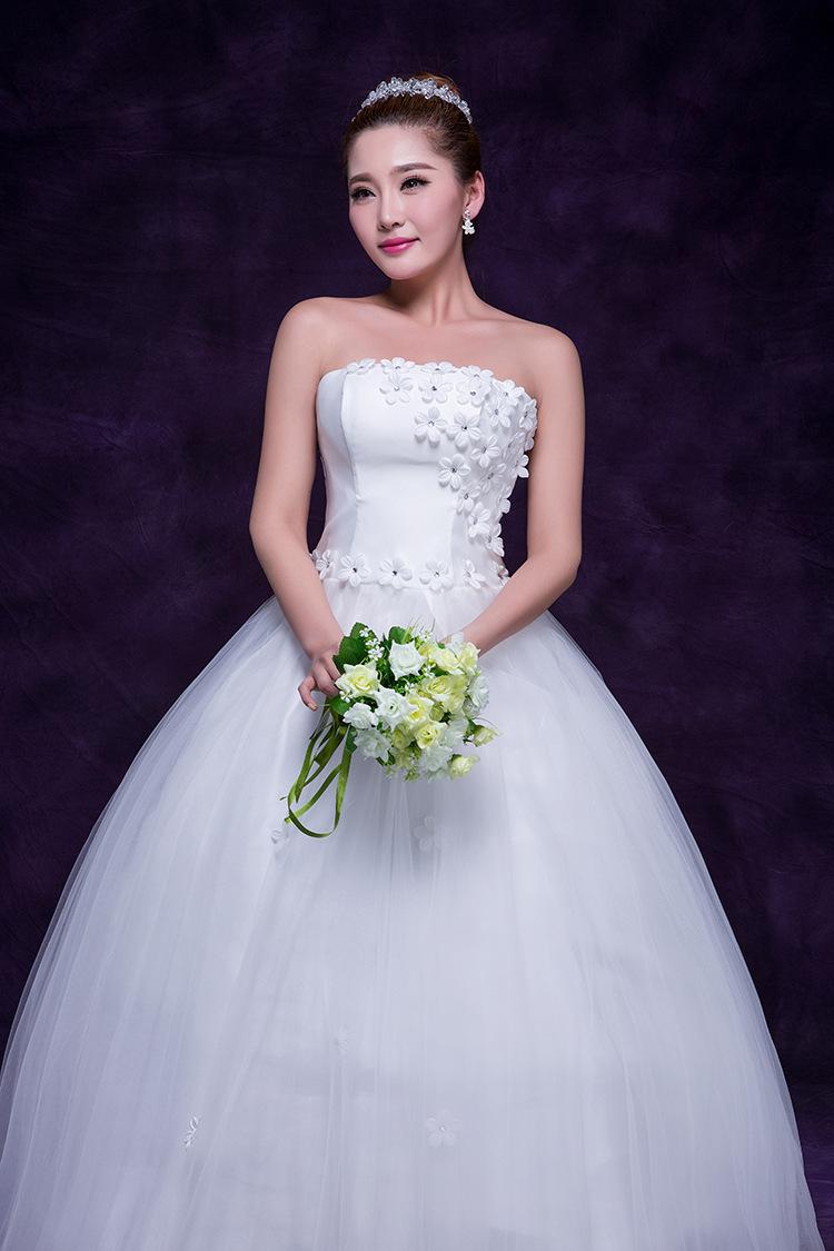 New white bride floor length dress slim off shoulder for Slim white wedding dresses