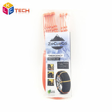 10pcs/set Life Saver ZipClipGo Emergency Traction Aid Life Saver For Car Truck In Mud Snow Or Ice Bad Weather Conditions(China (Mainland))