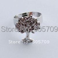 20PCS Tibetan silver TREE OF LIFE adjustable rings A21915