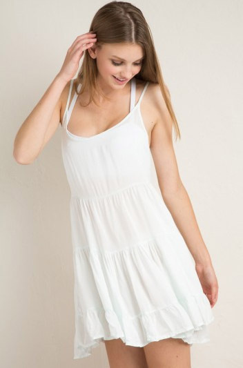 European and American Fan brandy melville women babes sexy halter sundresses comfortable fabric(China (Mainland))
