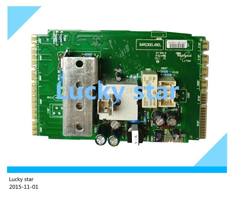 Фотография 95% new good working High-quality for Whirlpool washing machine Computer board AWOE9558 AWOE 9558 461974489196 board