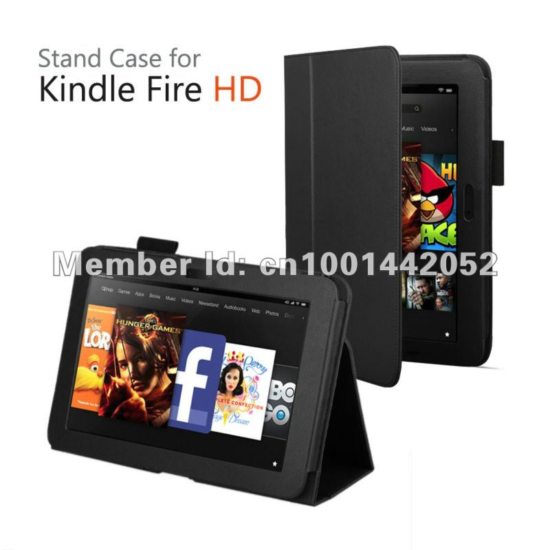 KINDLE FIRE HD 8.9 CASE COVER, WITH SLEEP/WAKE UP FUNCTION FREE SHIPPING!(China (Mainland))