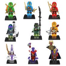 Single Sale Super Heroes Ninjagoed Ninja Turtles Minifigures Kai JAY Lloyd Skylor Wrayth Master Chen Building Blocks Toys Brick(China (Mainland))