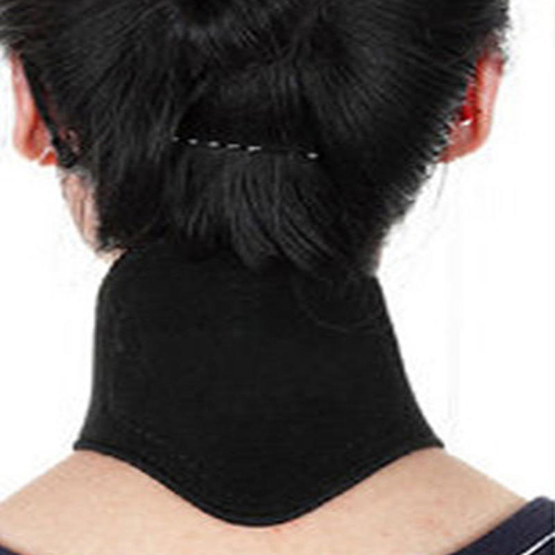 1pcs Health Care Magnetic Therapy Neck Spontaneous Heating Headache Belt Neck Massager Body Care(China (Mainland))