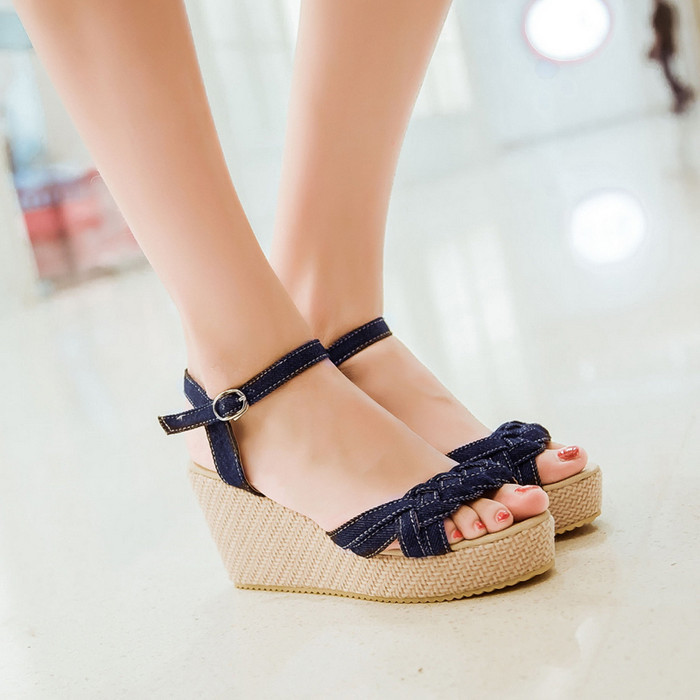 Stylish Wedge Heels | Tsaa Heel