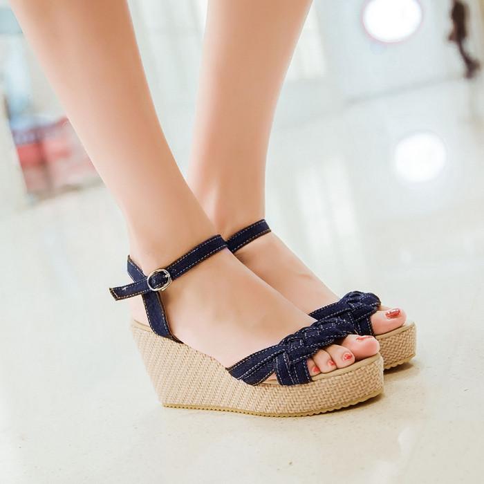 Stylish Wedge Heels | Tsaa Heel