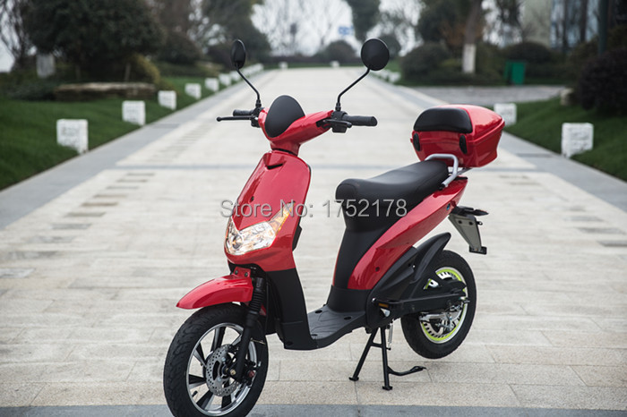 Swift 48v 800w big battery powerful motor 42Km/H high speed with large LCD display electric scooter(China (Mainland))