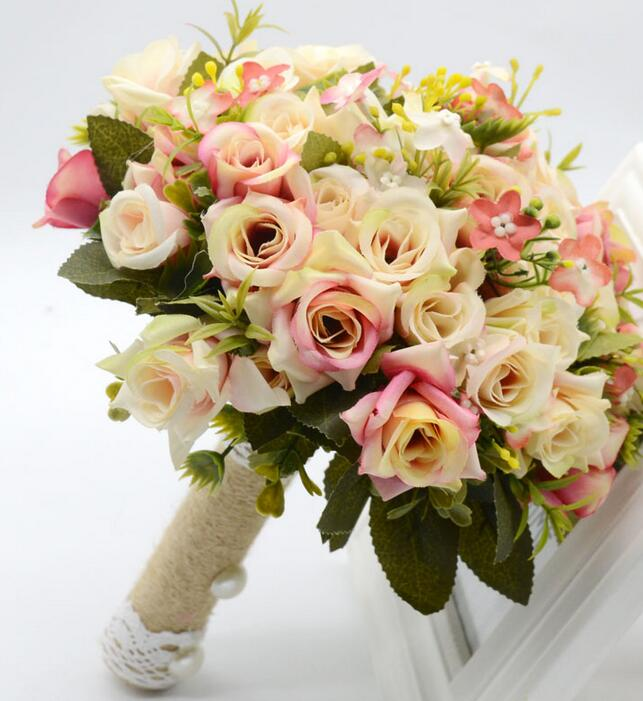 Compare Prices On Rose Wedding Bouquet Online Shopping Buy Low Price Rose We