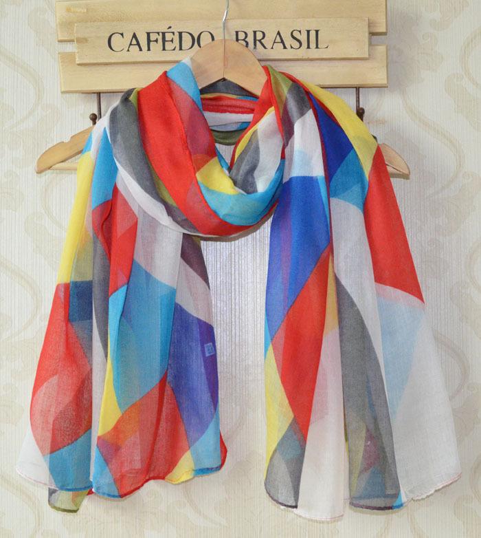Women spring scarf 2014 new free shipping,long Women shawl,Flower print,geometrical pattern print,muslim hijab,Floral hijab,wrapОдежда и ак�е��уары<br><br><br>Aliexpress