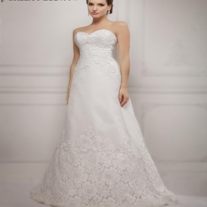 Sexy sweetheart lace wedding dress 2015 floor length lace for Sexy fitted wedding dress