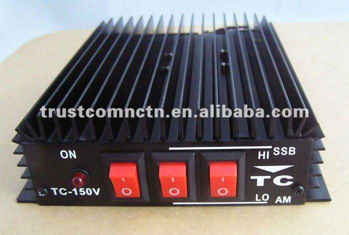 Free shipping by DHL Popular hot selling 50W on FM VHF marine radio amplifier TC-150(China (Mainland))
