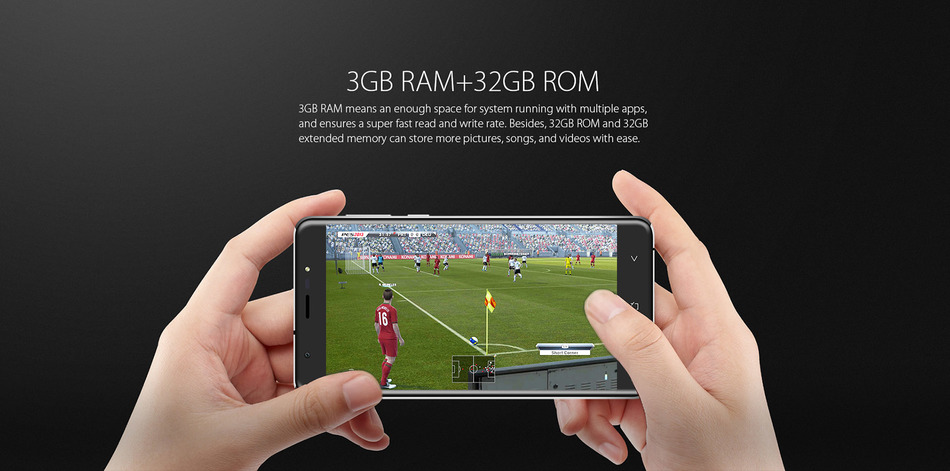 Blackview R6 5.5 inch FHD 4G Telephone Android 6.0 MTK6737T Quad Core 3GB RAM 32GB ROM 5MP + 13MP Cameras 3000mAh Mobile Phone