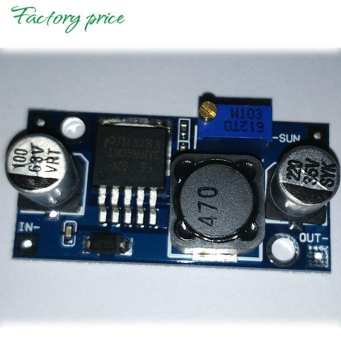Инверторы и Преобразователи LM2596HVS PCB 60V 50V 48V 42V 40V 38V 36V 24 5 12 /24 28V