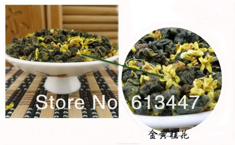 500g Osmanthus TieGuanYin tea tikuanyin with Osmanthus flavor fragrance Oolong tea wulong tea slimming tea Free