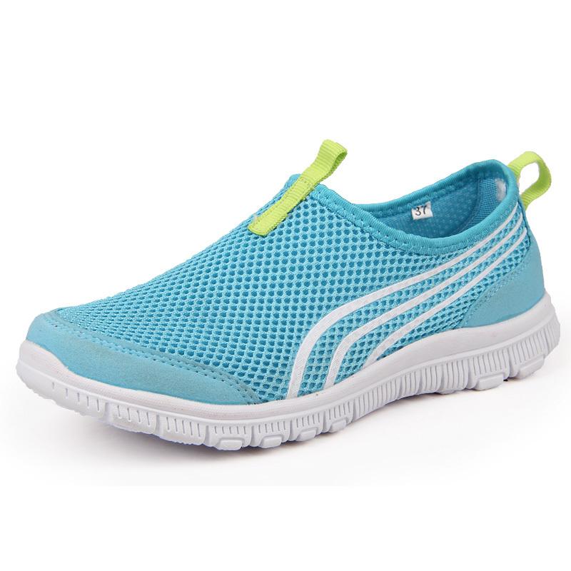 Гаджет  Candy color women sports sneakers slip on shoes zapatillas deportivas lady platform sneakers zapatillas de mujer running hombre None Обувь